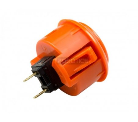 Official Sanwa Arcade Button - Orange ModmyPi