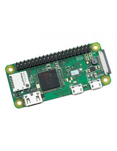 Raspberry Pi Zero Wireless W with Pre-Soldered Header | Raspberry Pi | ModmyPi