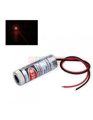 5mW Laser Emitter - Red Dot 12mm Size 650nm 5mW