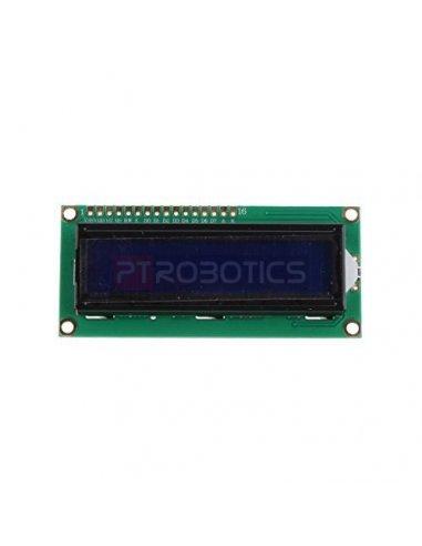 16x2 LCD Module - Blue Funduino