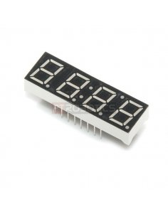 4-Digit 7-Segment Display - Red
