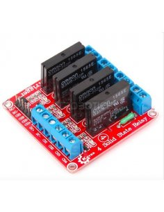4 Channel Solid State Relay Module For Arduino