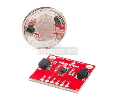 SparkFun Triple Axis Accelerometer Breakout - MMA8452Q (Qwiic) | Acelerómetros | Sparkfun