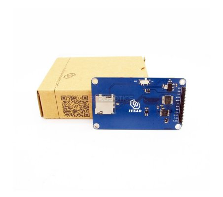 ITDB02 2.4 SPI TFT LCD Display With 262K Color 320x240 Resolutions For Arduino LCD Module Control   LCD Grafico   Itead