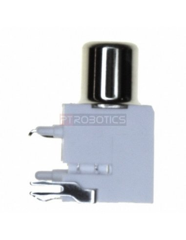 Chassis Phono RCA Socket PCB Branco | Fichas Audio |