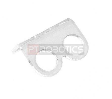 Acrylic HC-SR04 Ultrasonic Ranging Module Mounting Bracket   Sensor Ultrasom  