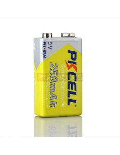 PKCELL NiMH Rechargeable Battery 9V 250mAh