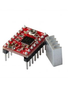 A4988 Stepper Motor Driver Module with Heatsink for 3D Printer