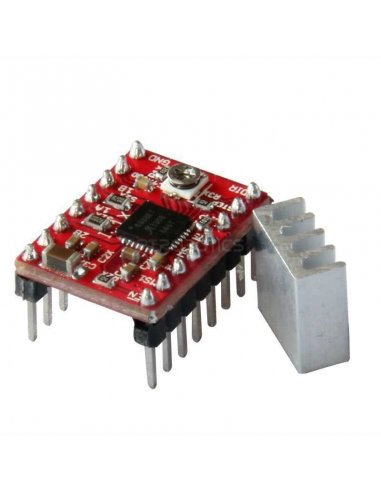 A4988 Stepper Motor Driver Module with Heatsink for 3D Printer / Impressora 3D