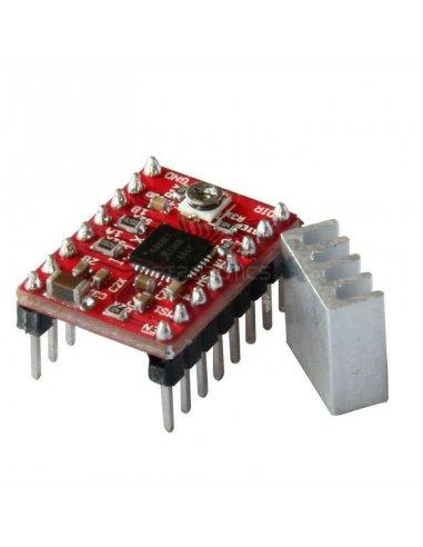 A4988 Stepper Motor Driver Module with Heatsink for 3D Printer