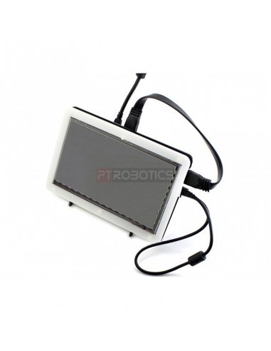 Bicolor Case for 7inch LCD   LCD Raspberry Pi   Waveshare