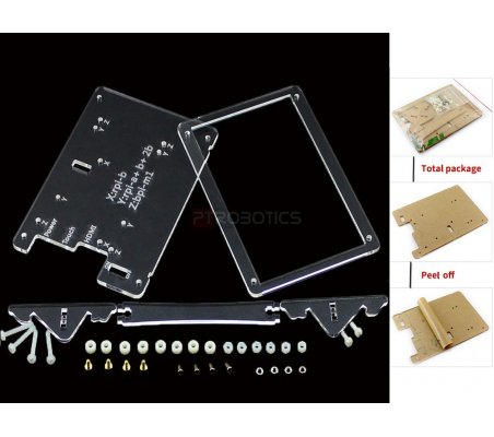 Clear Case for 5inch LCD Type B | LCD Raspberry Pi | Waveshare