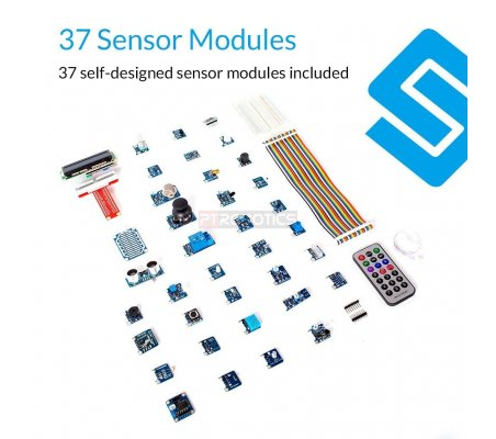 Sunfounder 37 Modules Sensor Kit V2 0 for Raspberry Pi