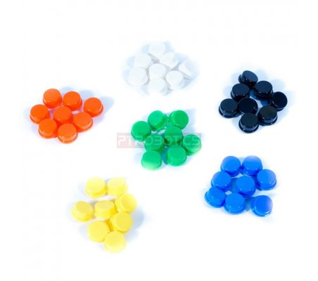 Colored Button Caps Pack | Arduino |
