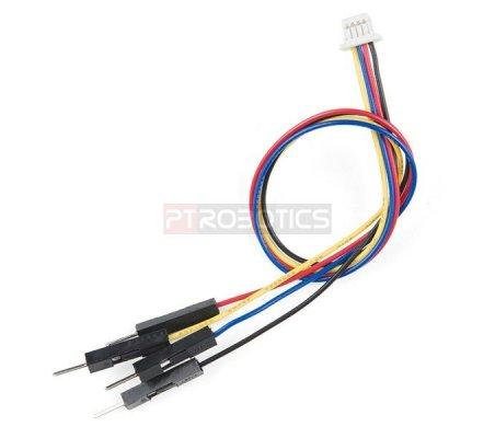 Qwiic Cable - Breadboard Jumper (4-pin) | Assemblados | Sparkfun