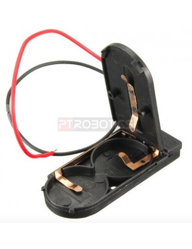 CR2032 Button Battery Holder Case w/ On/Off Switch | Suporte Pilhas |