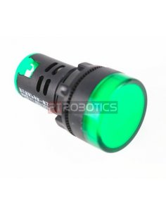 AD16-22DS 22mm DC 24V LED Indicator Light - Green