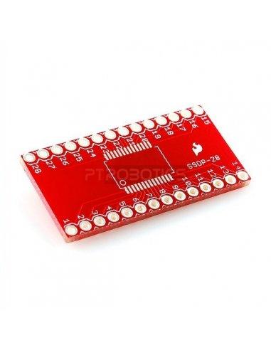 SSOP to DIP Adapter 28-Pin