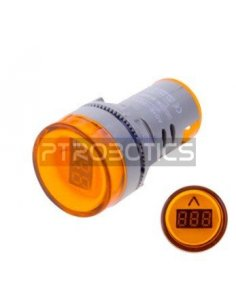 AD16-22DSV 22mm AC 60-500V LED Voltmeter Voltage Meter Indicator Pilot Light - Yellow