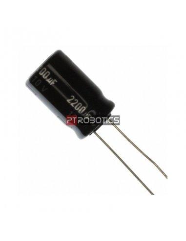 Condensador Electrolítico 1500uF 35V 105ºC   Condensador Electroliticos  