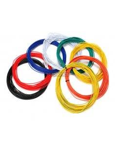 Wire 20AWG Green-Yellow 1m