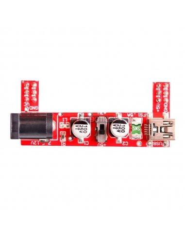 Breadboard Power Supply 5V/3.3V for Arduino | Fontes de alimentação |