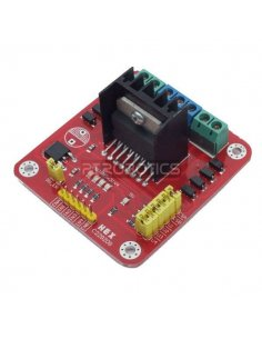 L298N Dual H-Bridge DC Stepper Motor Driver Board