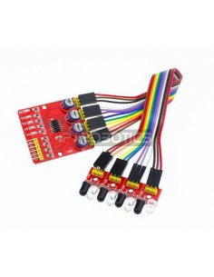4 Channel Infrared Obstacle Sensor for Arduino