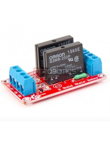 2 Channel Solid State Relay Module For Arduino