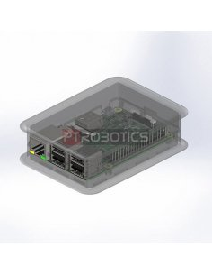 TEKO Transparent Case Raspberry Pi B+, 2 and 3
