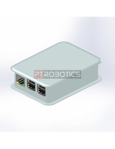 TEKO White Case Raspberry Pi B+, 2 and 3