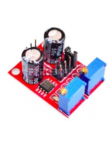 NE555 Signal Generator Module Frequency Duty Cycle Adjustable Square Wave | Varios |