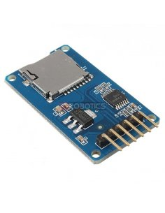 MicroSD Card Adapter w/ Level Shifters