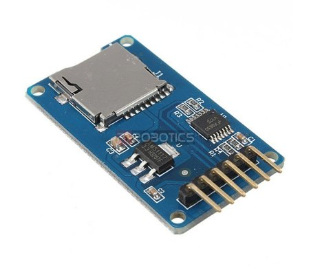MicroSD Card Adapter w/ Level Shifters | Conversores |