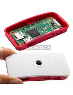 Official Raspberry Pi Zero Red & White Case