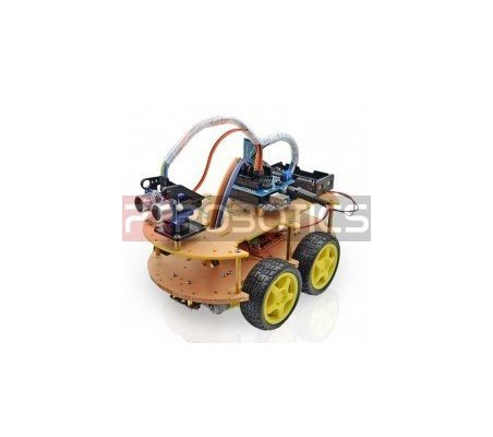 4WD Multifunction Bluetooth Controlled Robot Car Kit | Chassi de Robo |