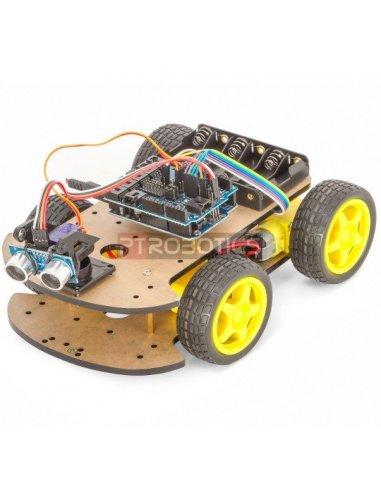 4WD Robot Car Kit | Chassi de Robo |