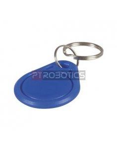 RFID 13.56Mhz Blue Keychain Fob