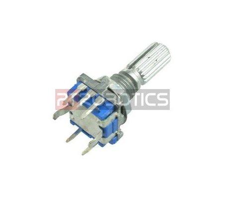 EC11 Rotary Encoder Audio Digital Potentiometer w/ Switch Handle
