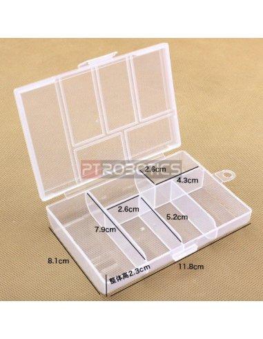 6 Compartment Storage Box | Caixas Arrumação |