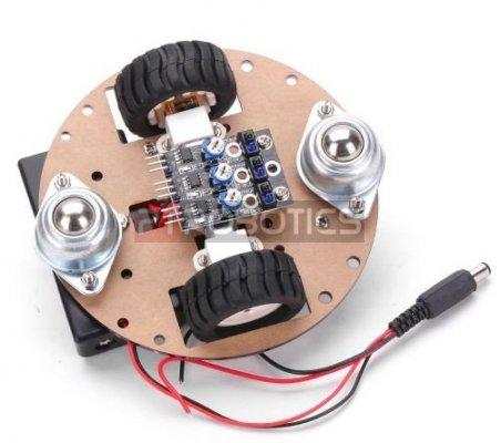 2WD Intelligent Robot Turtle Kit | Chassi de Robo |
