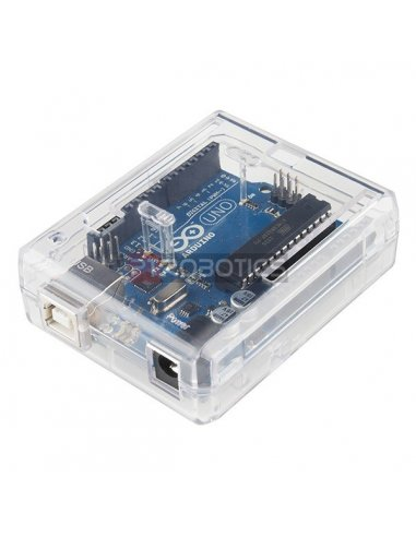 Arduino Uno Enclosure - Clear Plastic | Caixa Arduino | Sparkfun