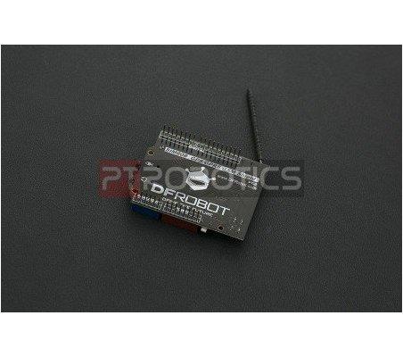 SIM808 GPS/GPRS/GSM Shield For Arduino   GSM   DFRobot