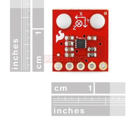 Triple Axis Magnetometer Breakout - MAG3110 | Bussolas |