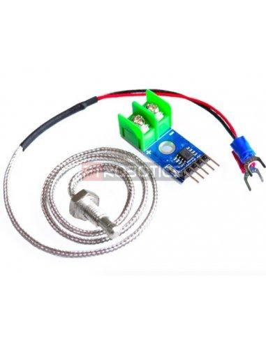 MAX6675 K-Type Thermocouple Module and Sensor | Sensores de Temperatura |