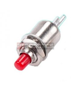 Push Button Momentary SPST 0.5A 125VAC 5mm - Red