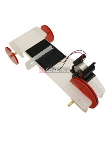 Solar Powered Buggy   Chassi de Robo   Kitronik