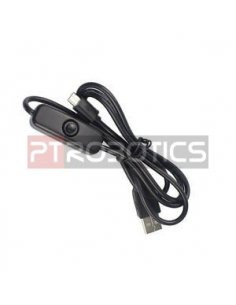 MicroUSB Cable w/ switch - 1.5m