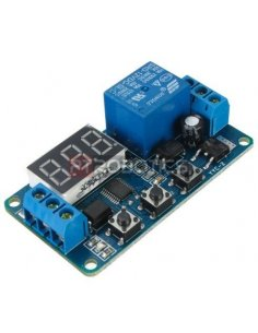 Programmable Timer 12V Relay Module w/ Display