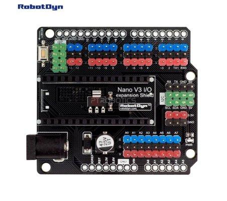 Nano I/O expansion Shield | Comunicação Arduino |